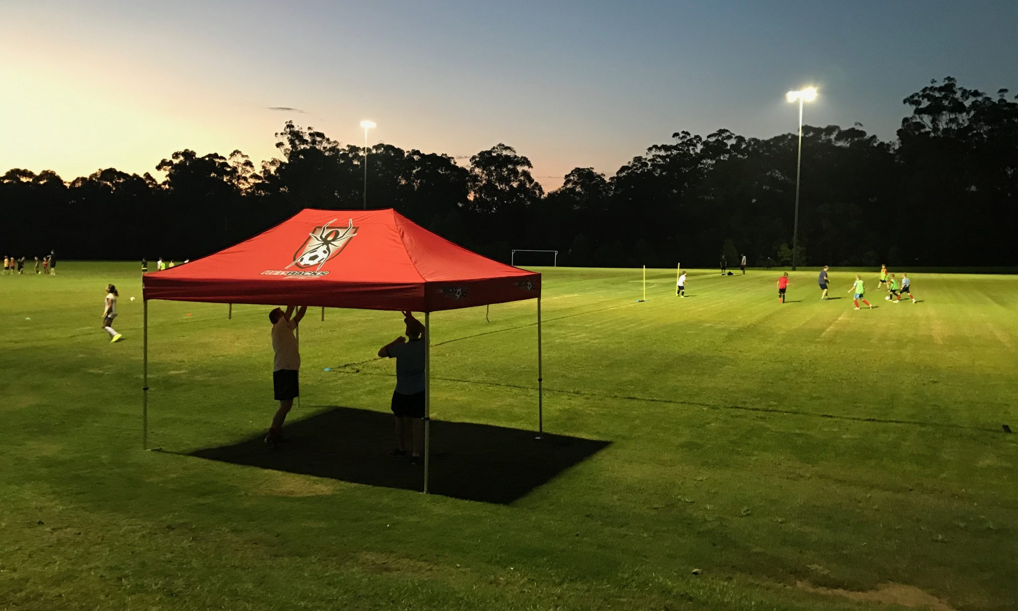 The New Redbacks Marquee