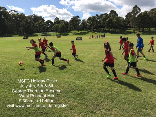 MSFC will be hosting another holiday clinic in July